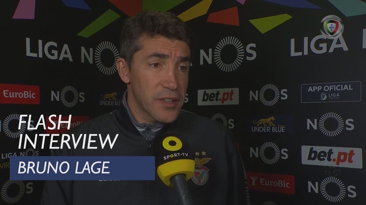 Liga (13ª): Flash Interview Bruno Lage