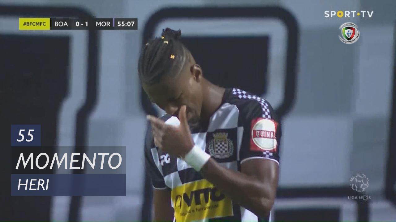 Boavista FC, Jogada, Heri aos 55'