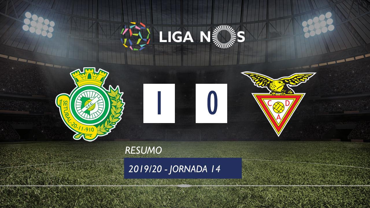 I Liga (14ªJ): Resumo Vitória FC 1-0 CD Aves