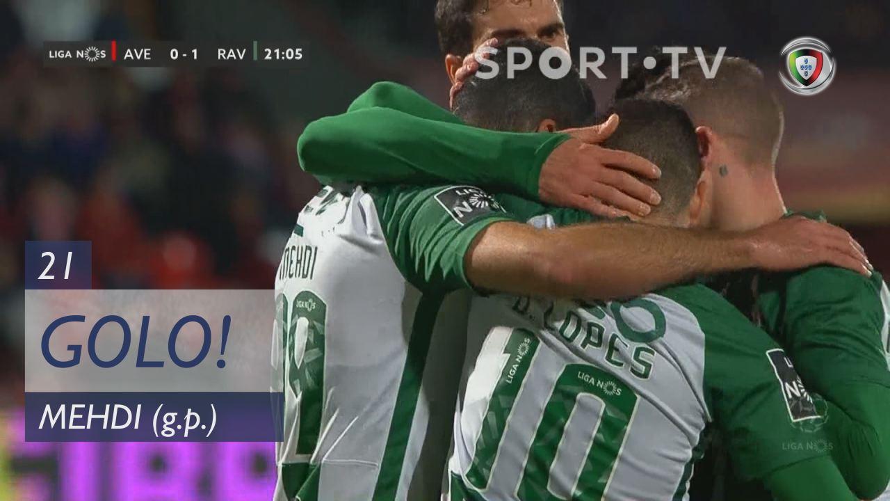 GOLO! Rio Ave FC, Mehdi aos 21', CD Aves 0-1 Rio Ave FC