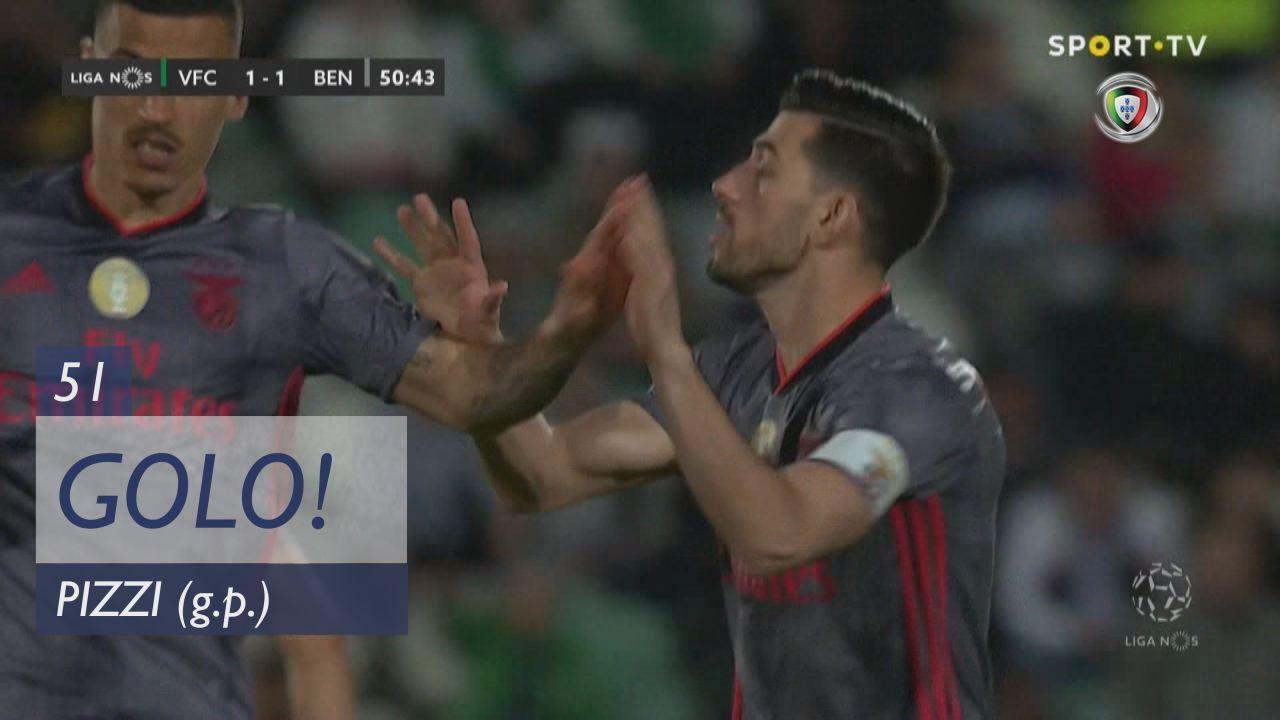 GOLO! SL Benfica, Pizzi aos 51', Vitória FC 1-1 SL Benfica