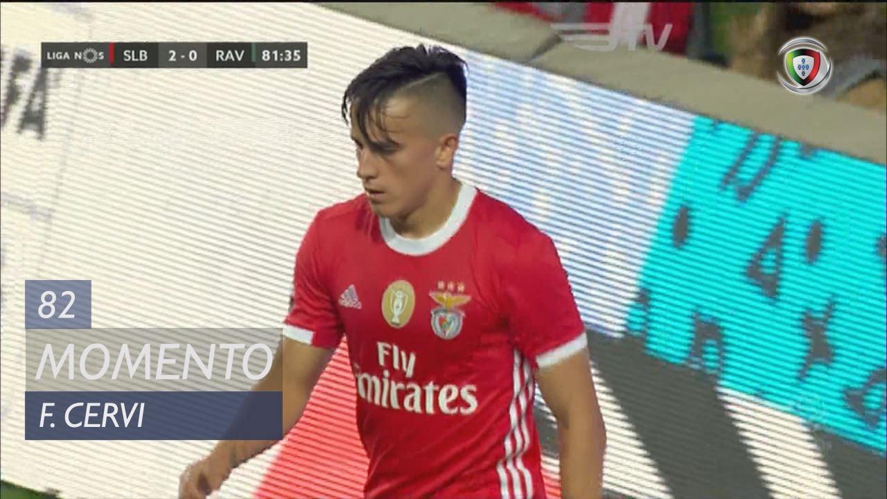 SL Benfica, Jogada, F. Cervi aos 82'