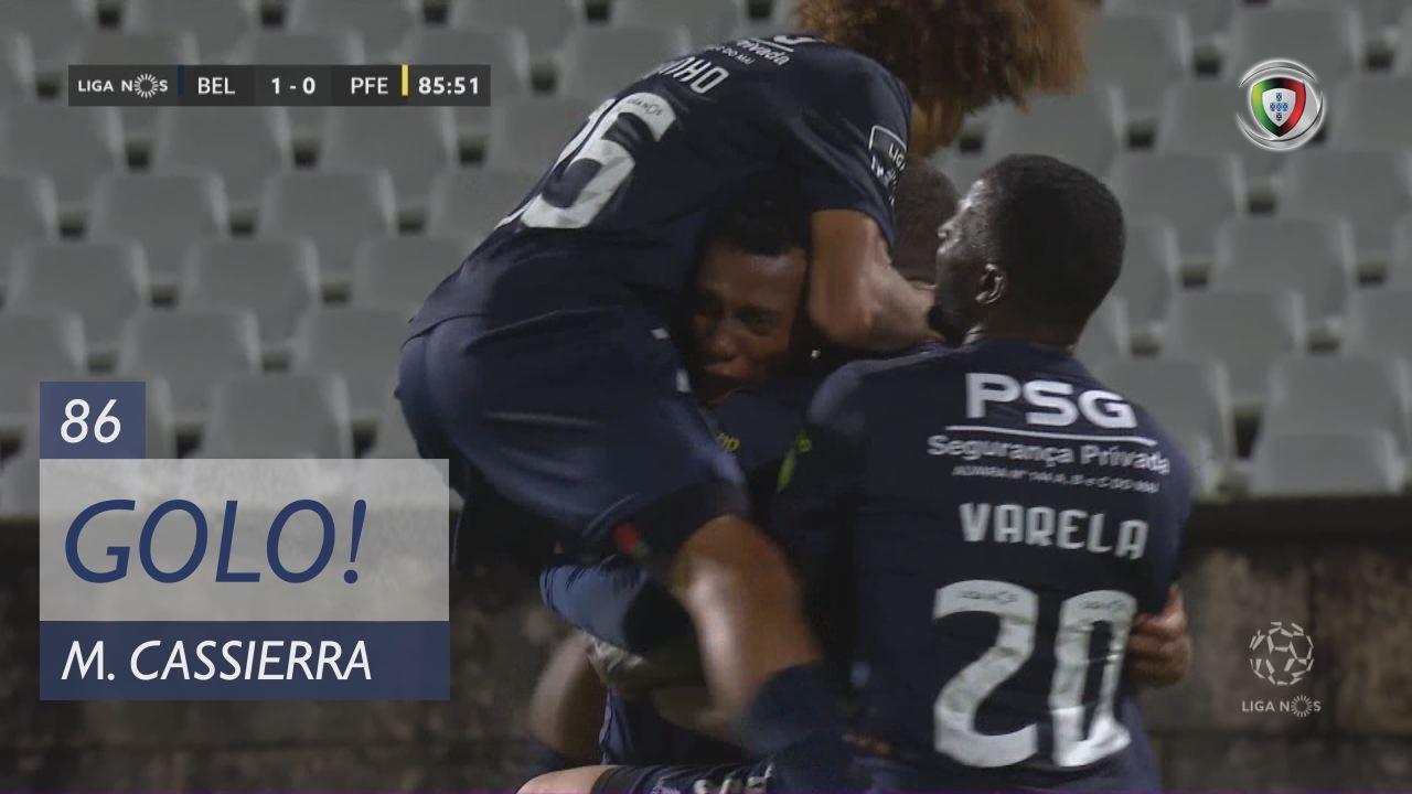 GOLO! Belenenses SAD, M. Cassierra aos 86', Belenenses SAD 1-0 FC P.Ferreira