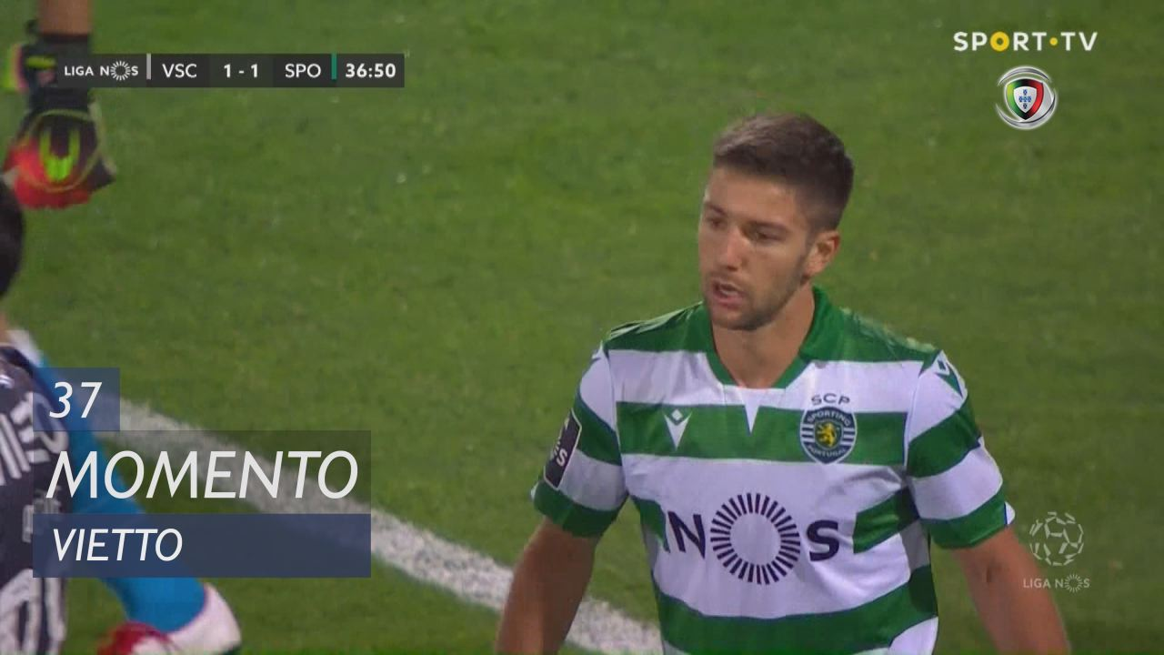 Sporting CP, Jogada, Vietto aos 37'