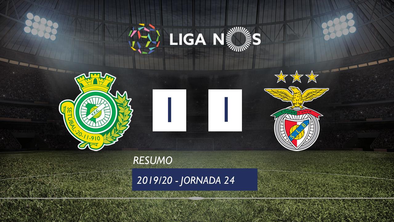 Liga NOS (24ªJ): Resumo Vitória FC 1-1 SL Benfica