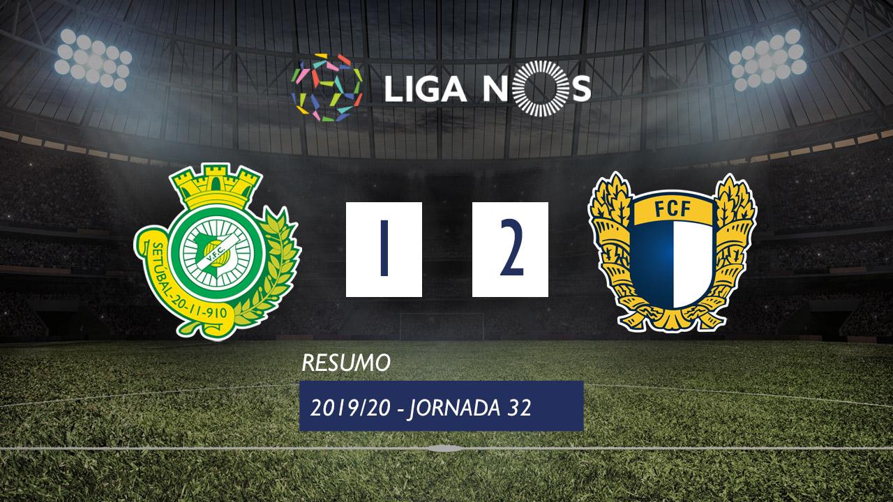 Liga NOS (32ªJ): Resumo Vitória FC 1-2 FC Famalicão