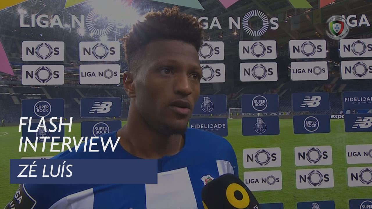 Liga (12ª): Flash Interview Zé Luís