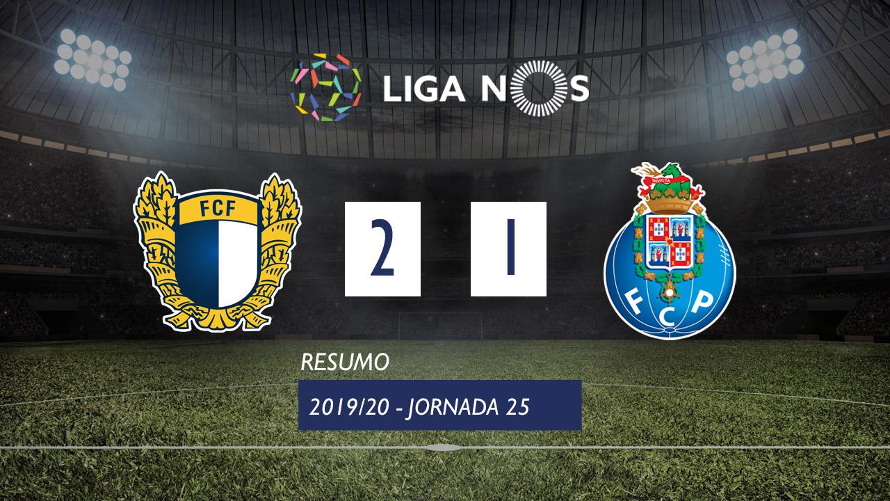 I Liga (25ªJ): Resumo FC Famalicão 2-1 FC Porto