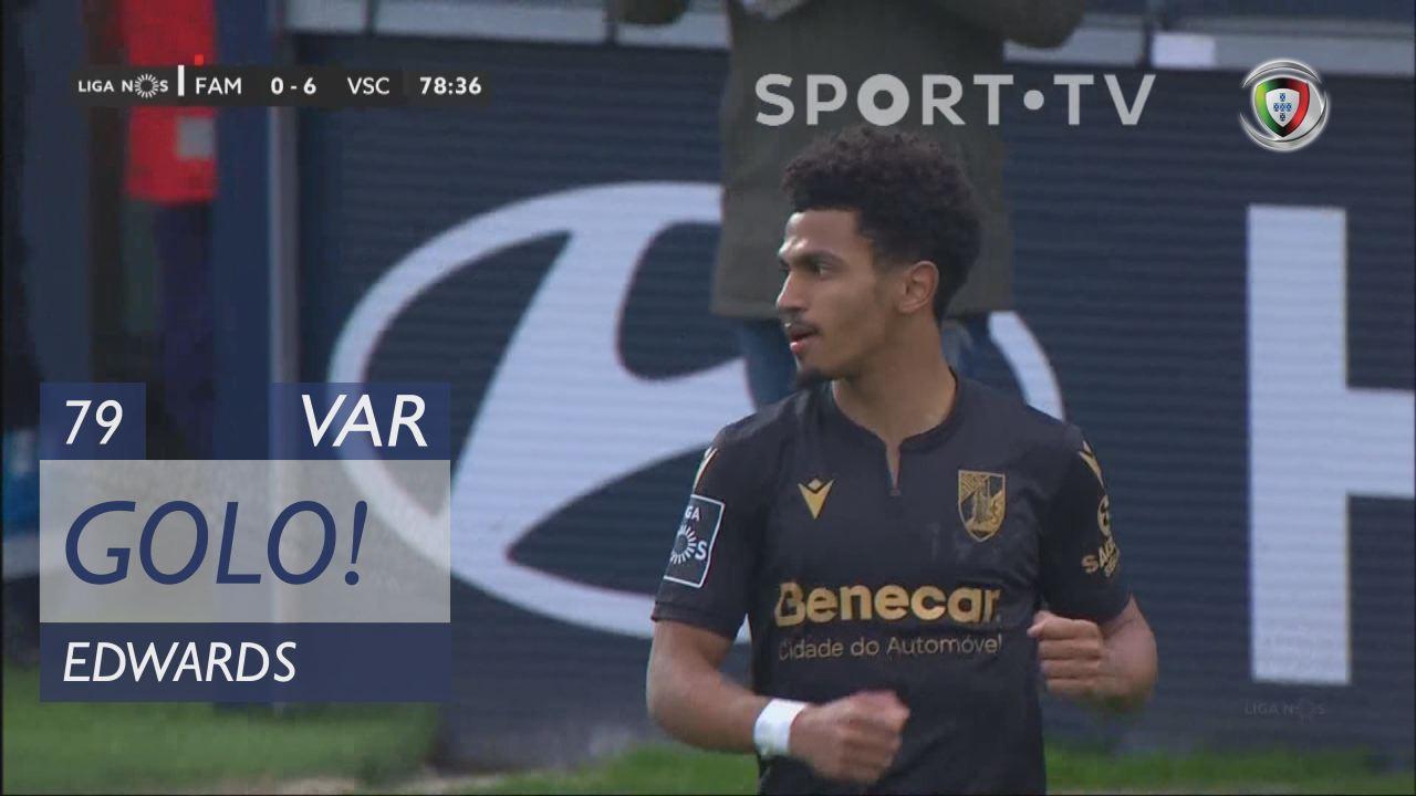 GOLO! Vitória SC, Edwards aos 79', FC Famalicão 0-7 Vitória SC