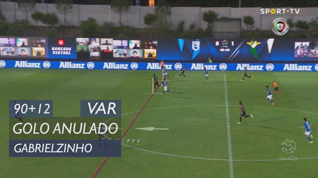 Moreirense FC, Golo Anulado, Gabrielzinho aos 90'+12'
