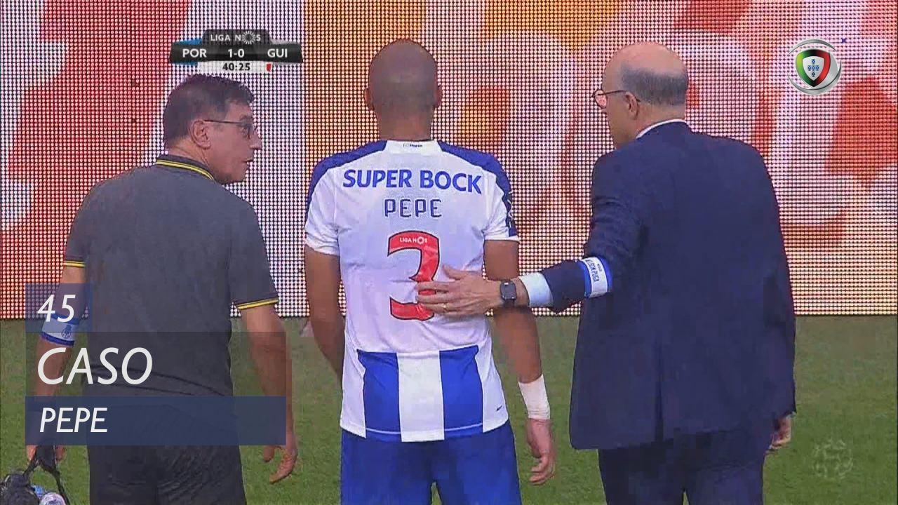 FC Porto, Caso, Pepe aos 45'