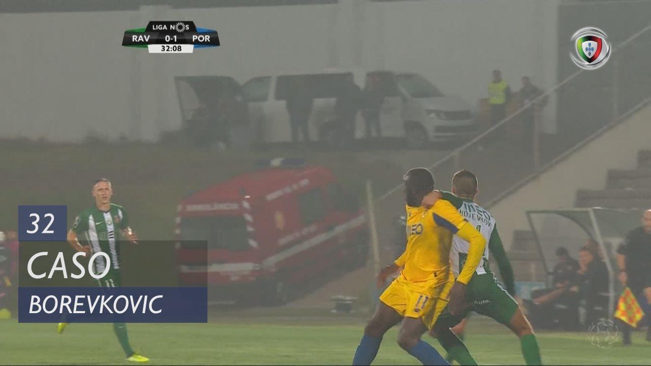Rio Ave FC, Caso, Borevkovic aos 32'