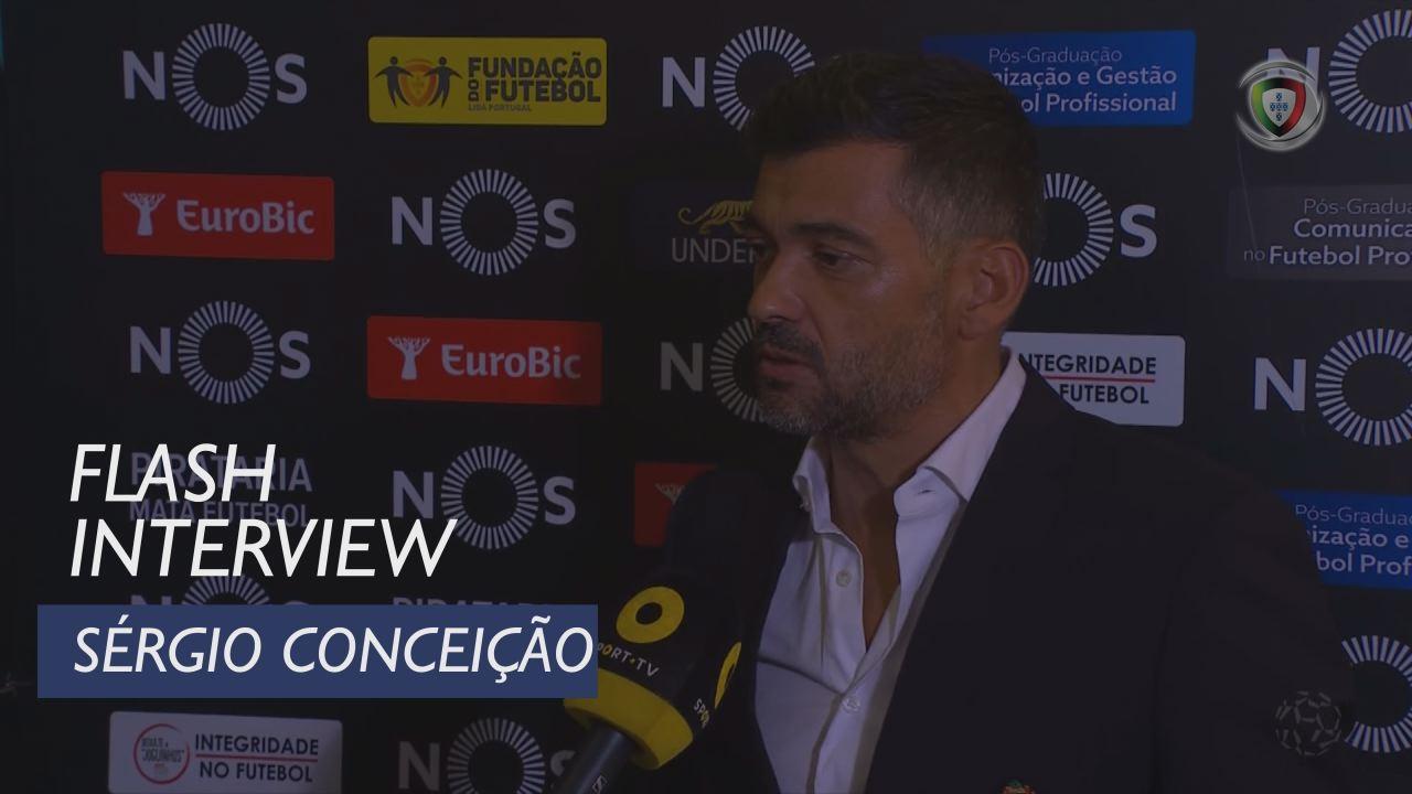 Liga (6ª): Flash Interview Sérgio Conceição