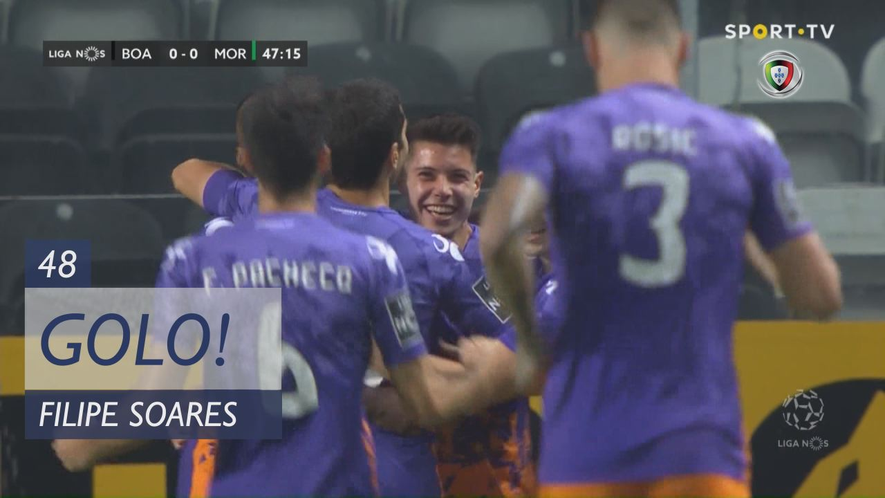 GOLO! Moreirense FC, Filipe Soares aos 48', Boavista FC 0-1 Moreirense FC