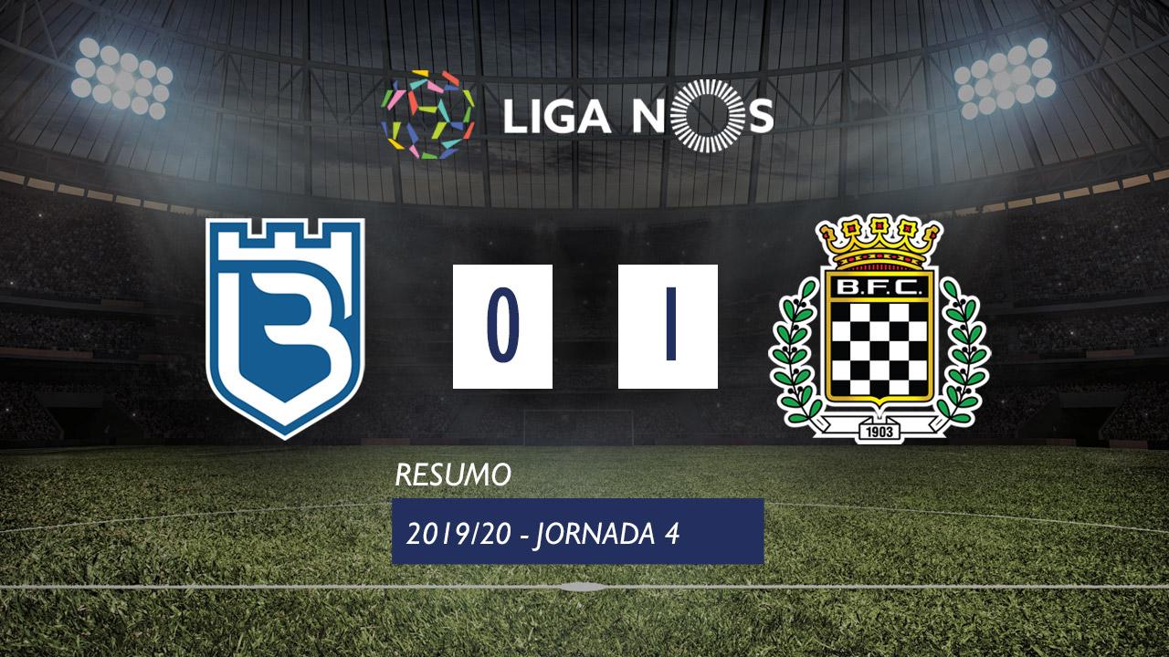 I Liga (4ªJ): Resumo Belenenses 0-1 Boavista FC