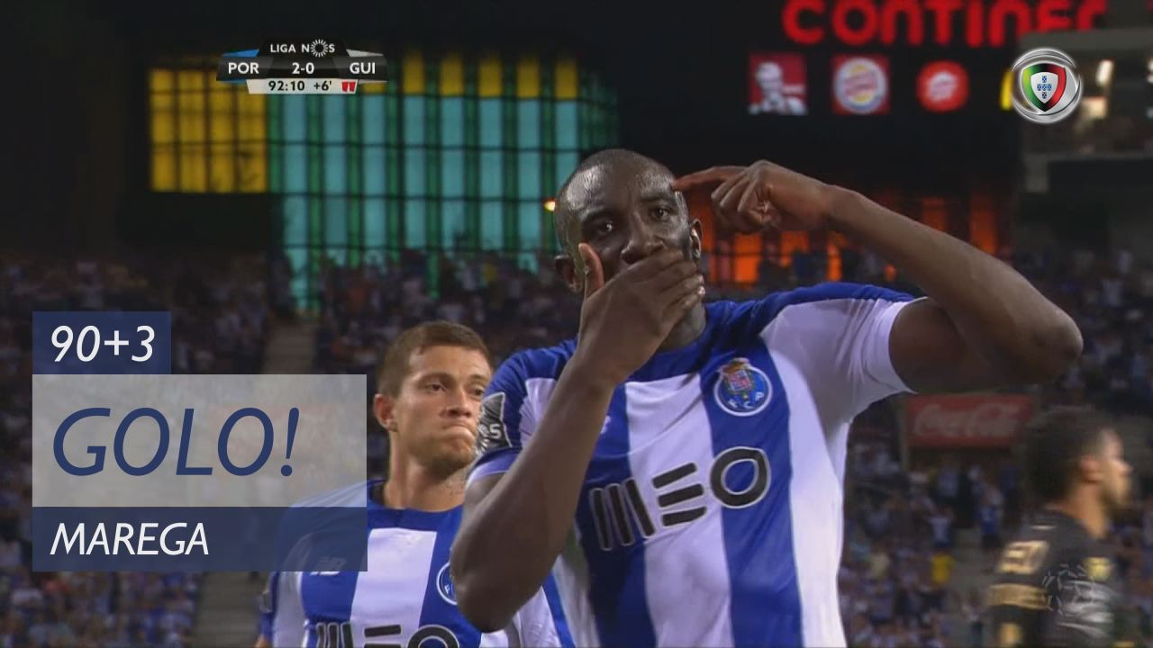 GOLO! FC Porto, Marega aos 90'+3', FC Porto 3-0 Vitória SC