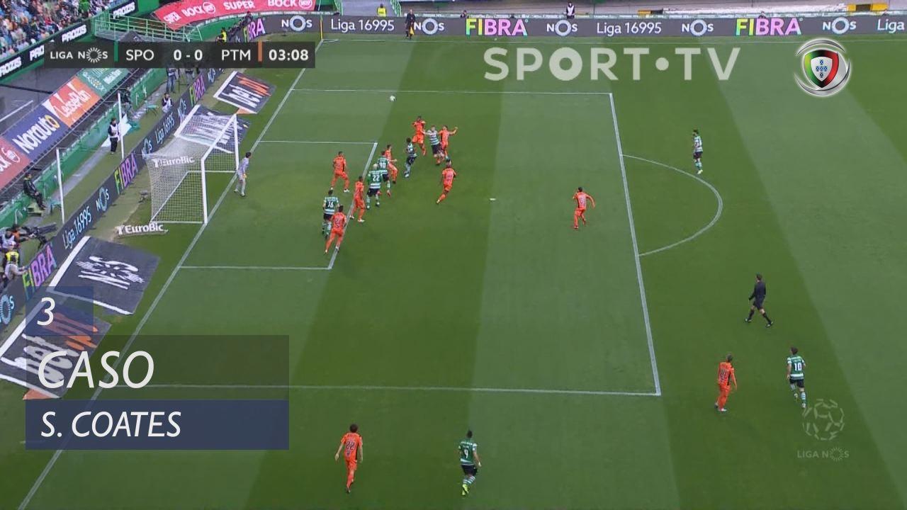 Sporting CP, Caso, S. Coates aos 3'