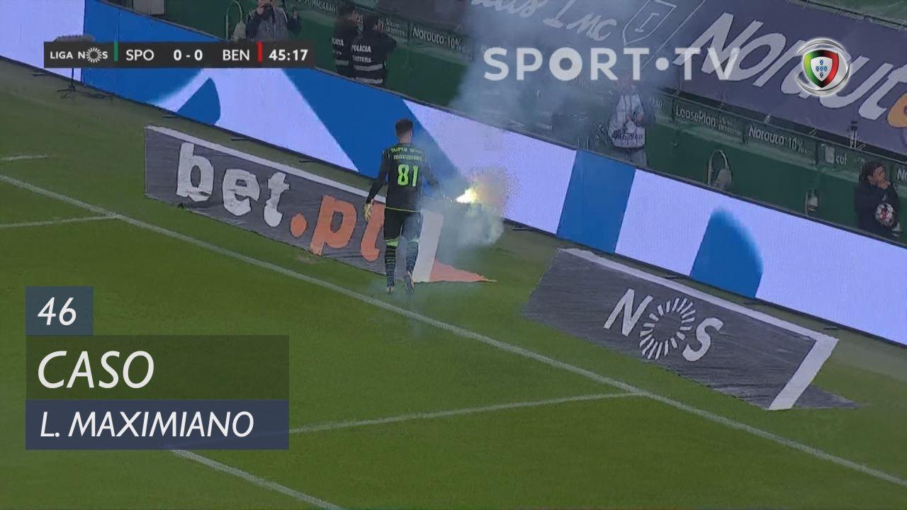 Sporting CP, Caso, Luís Maximiano aos 46'