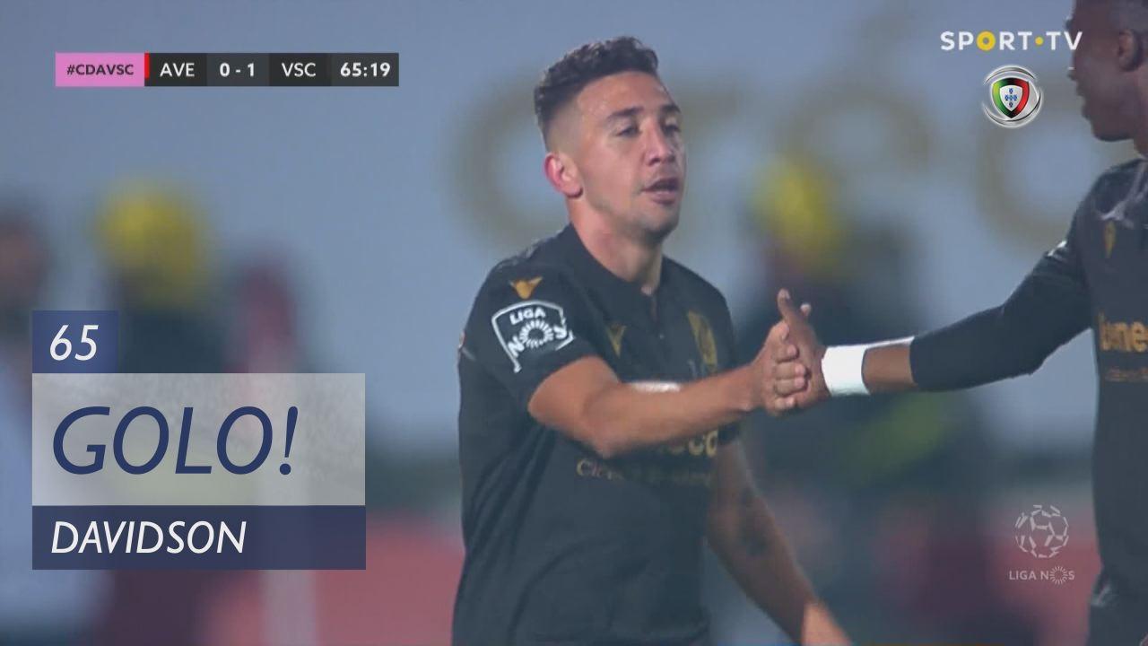 GOLO! Vitória SC, Davidson aos 65', CD Aves 0-1 Vitória SC