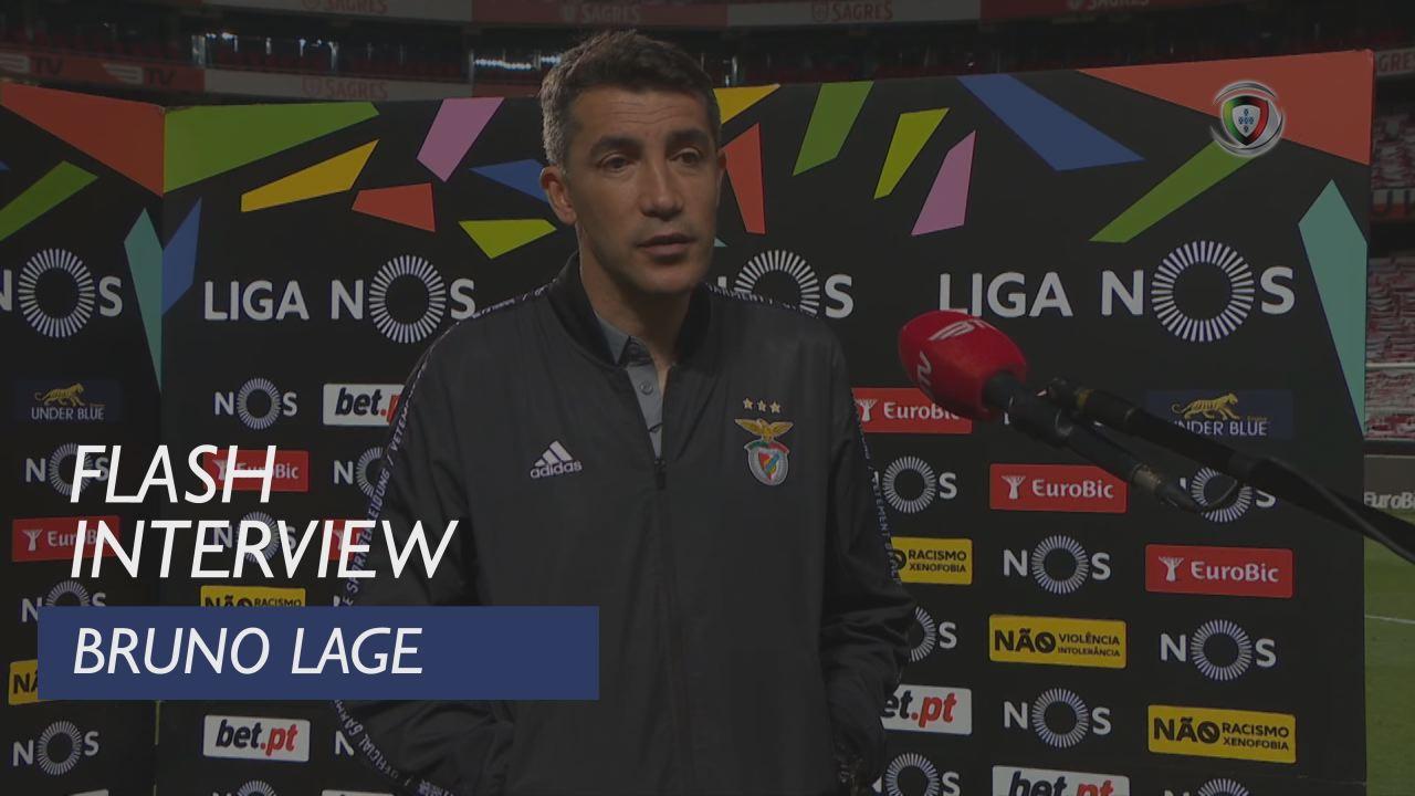"""Bruno Lage: """"Fizemos um jogo razoável"""""""