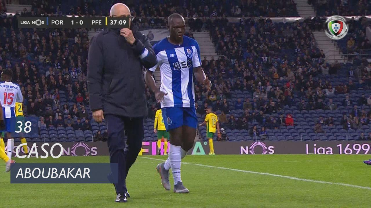 FC Porto, Caso, Aboubakar aos 38'