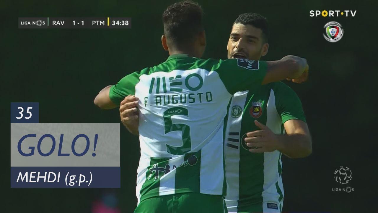 GOLO! Rio Ave FC, Mehdi aos 35', Rio Ave FC 1-1 Po...