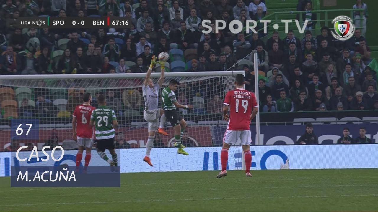 Sporting CP, Caso, M. Acuña aos 67'
