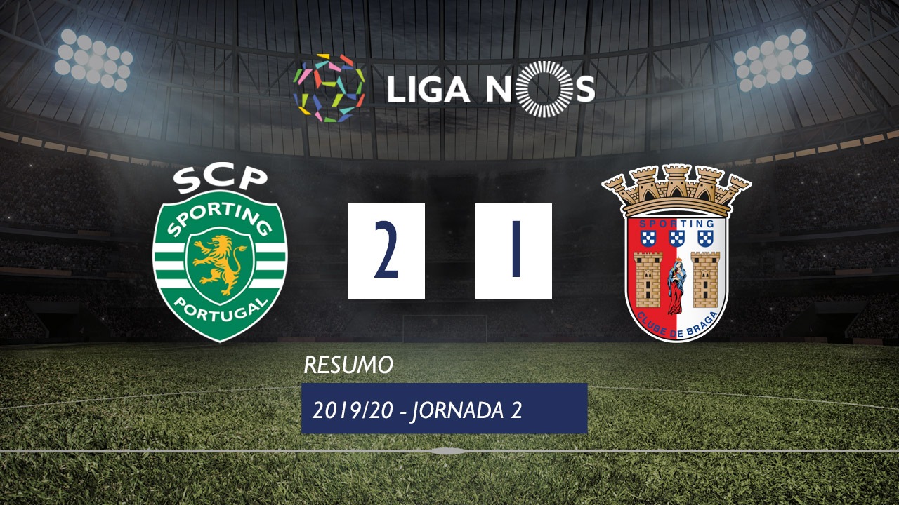 Sporting CP - SC Braga Highlights