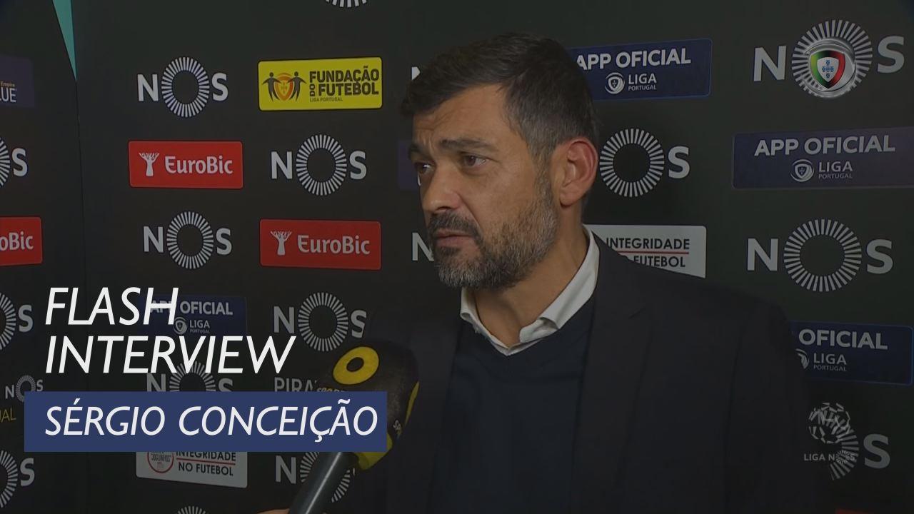 Liga (11ª): Flash Interview Sérgio Conceição
