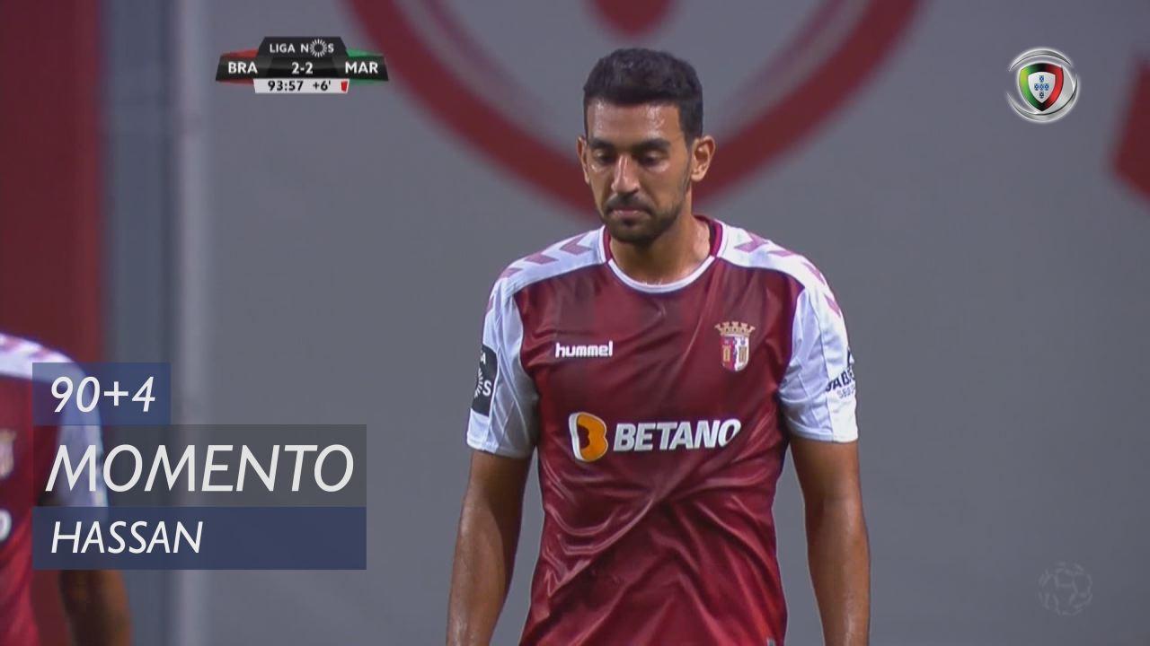 SC Braga, Jogada, Hassan aos 90'+4'