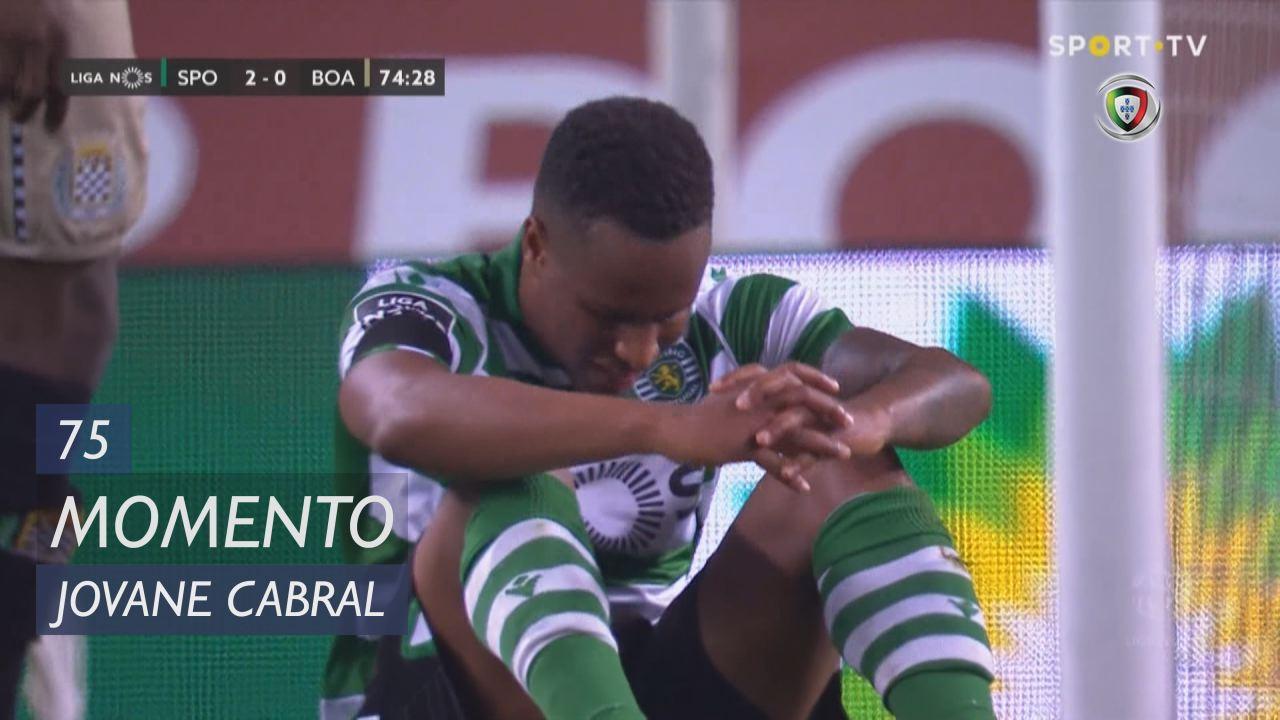 Sporting CP, Jogada, Jovane Cabral aos 75'