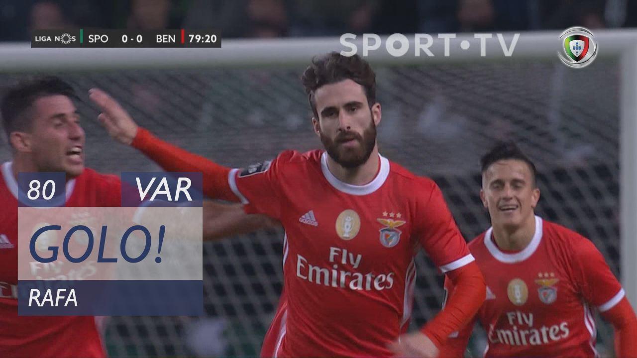 GOLO! SL Benfica, Rafa aos 80', Sporting CP 0-1 SL Benfica