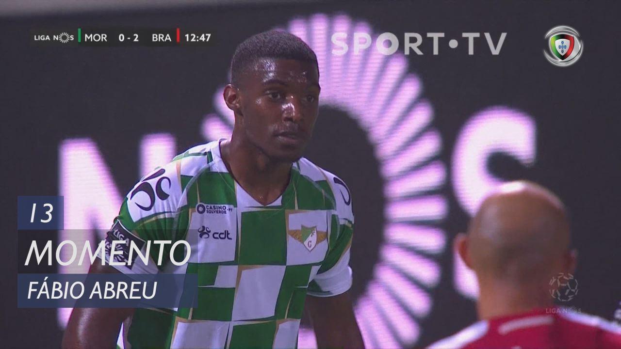 Moreirense FC, Jogada, Fábio Abreu aos 13'