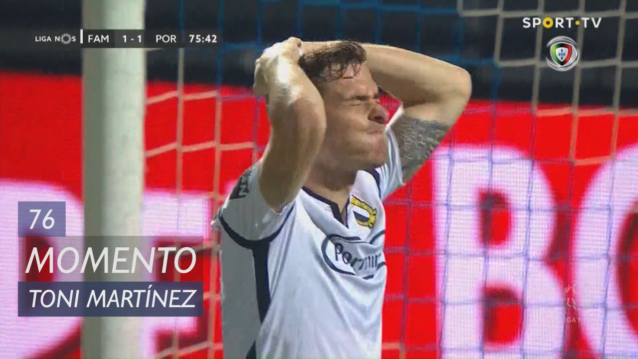 FC Famalicão, Jogada, Toni Martínez aos 76'