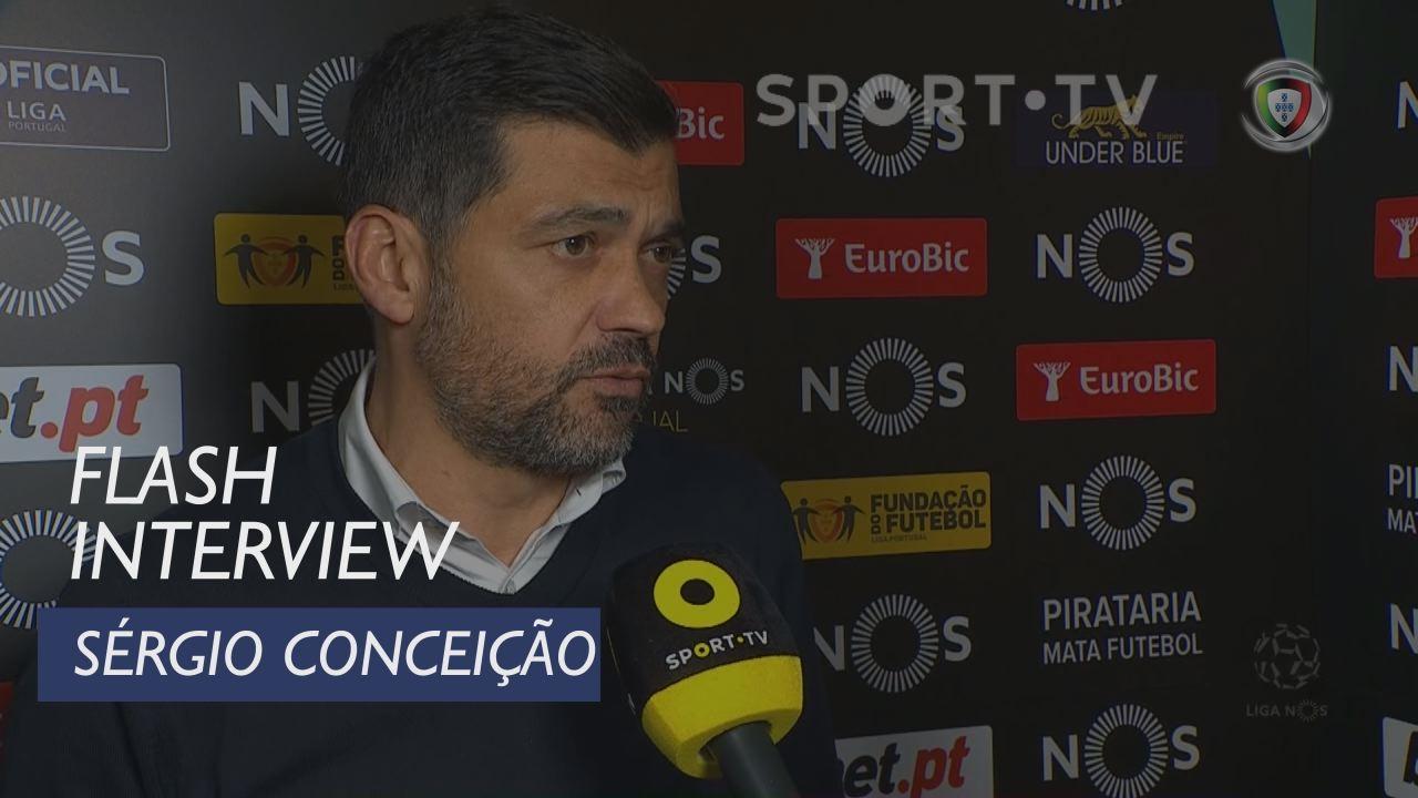 Liga (17ª): Flash Interview Sérgio Conceição