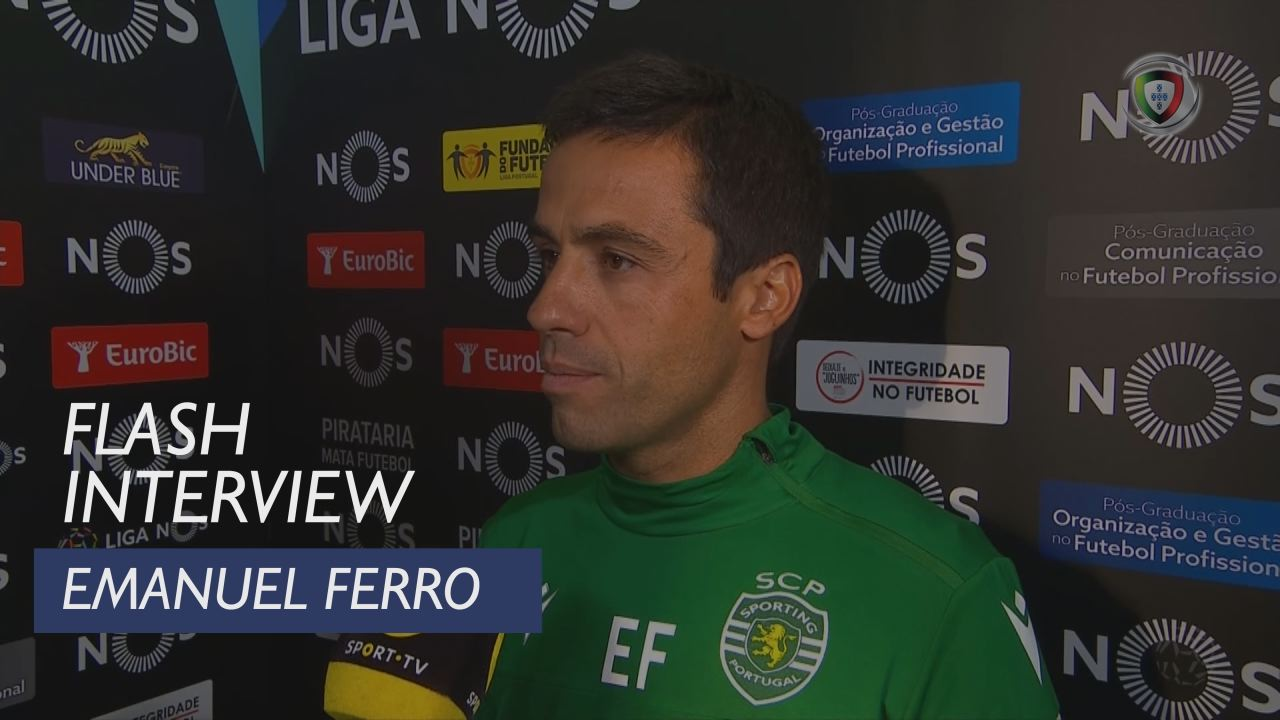 Liga (7ª): Flash Interview Emanuel Ferro