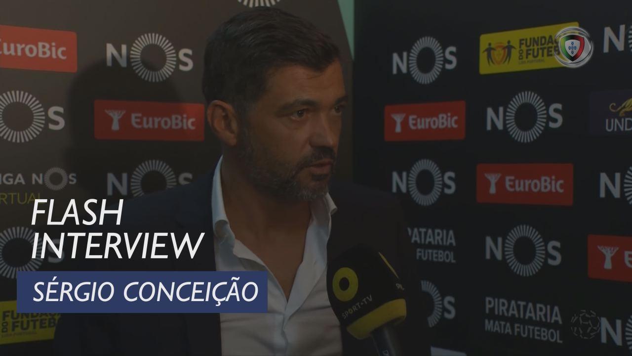 Liga (5ª): Flash Interview Sérgio Conceição