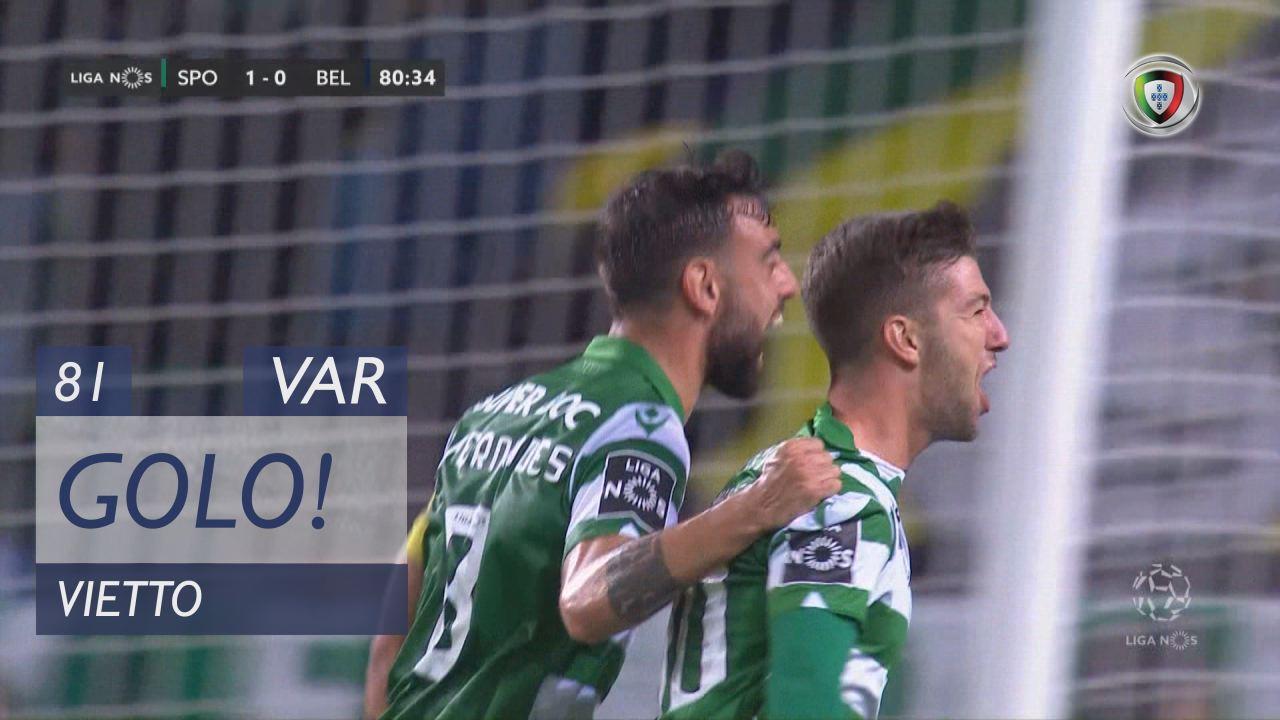 GOLO! Sporting CP, Vietto aos 81', Sporting CP 2-0 Belenenses