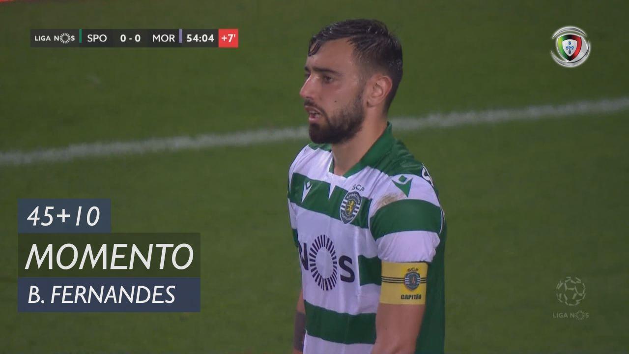 Sporting CP, Jogada, Bruno Fernandes aos 45'+10'