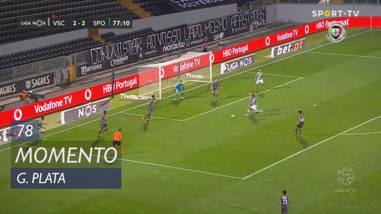 Sporting CP, Jogada, G. Plata aos 78'