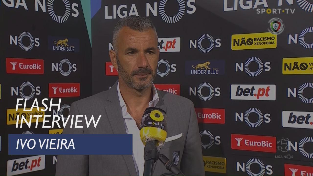"""Ivo Vieira: """"Esta fase é quase como uma pré-época"""""""