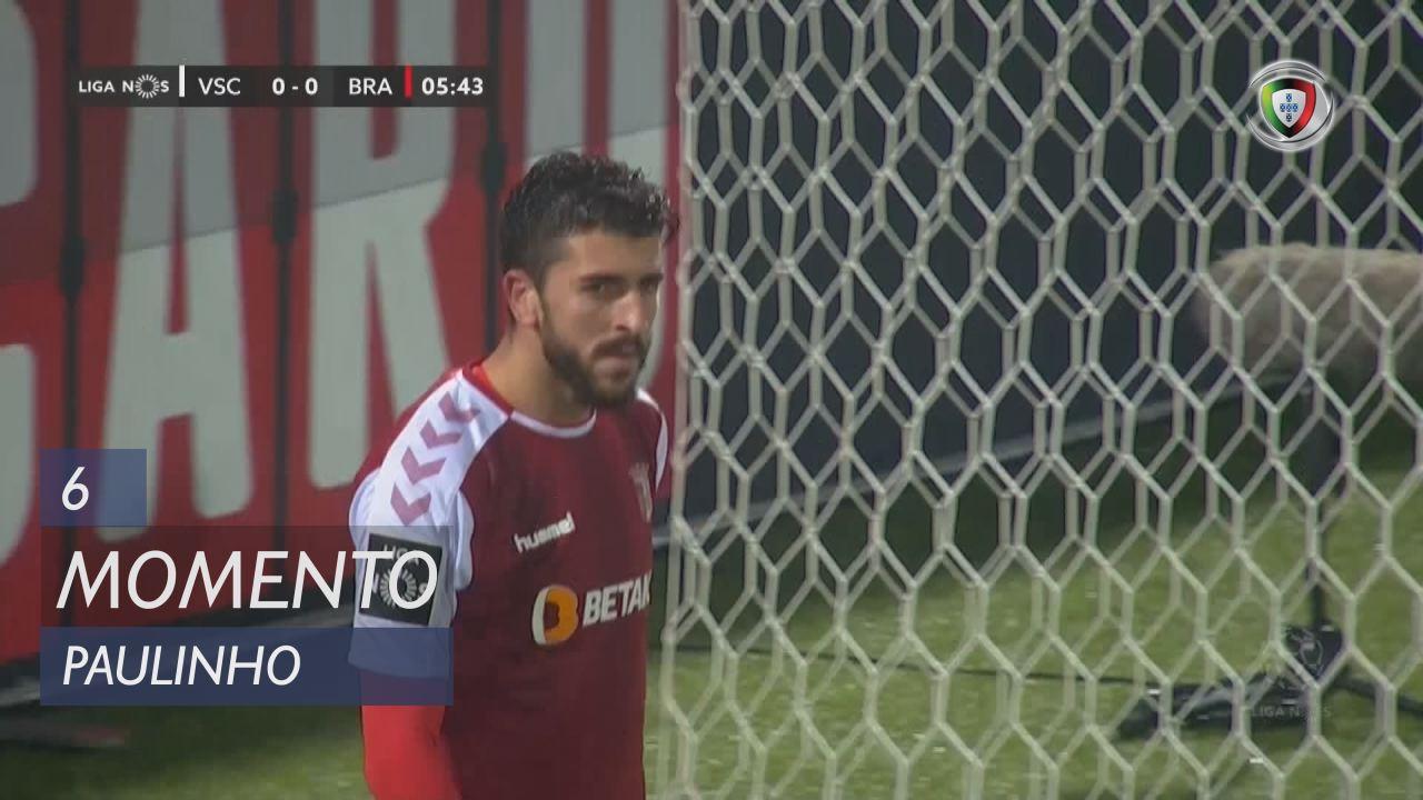SC Braga, Jogada, Paulinho aos 6'