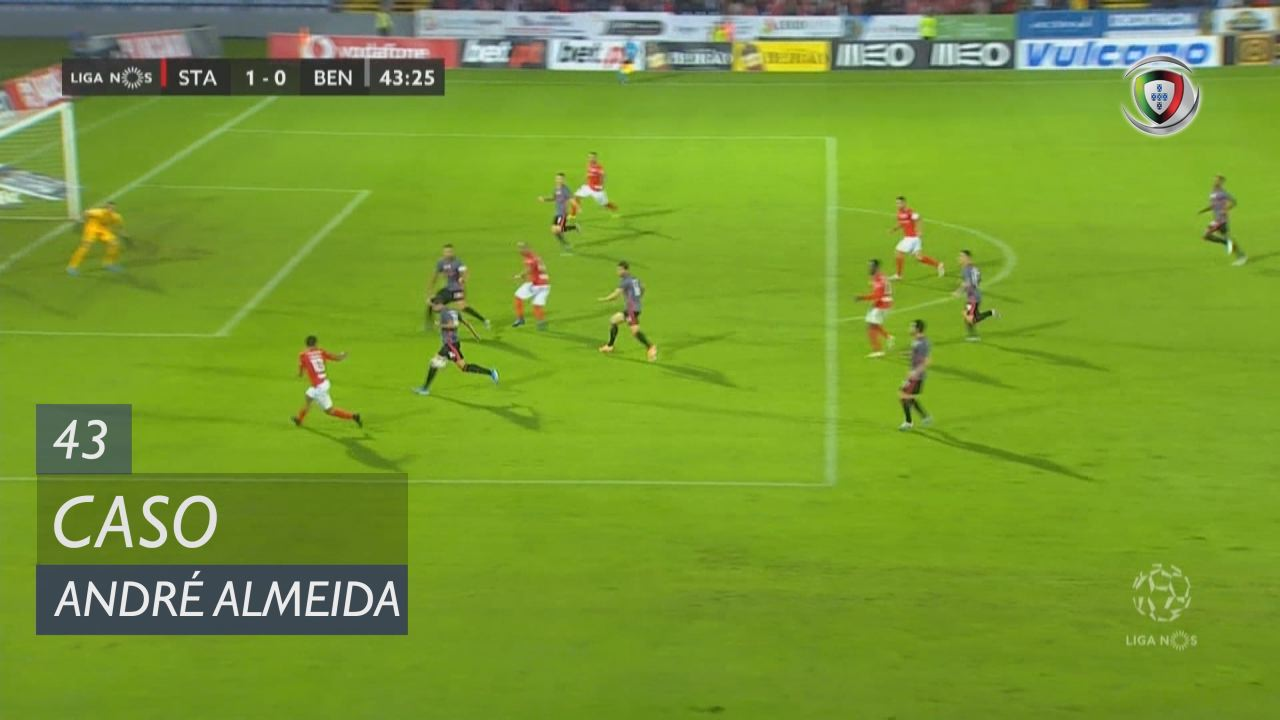 SL Benfica, Caso, André Almeida aos 43'
