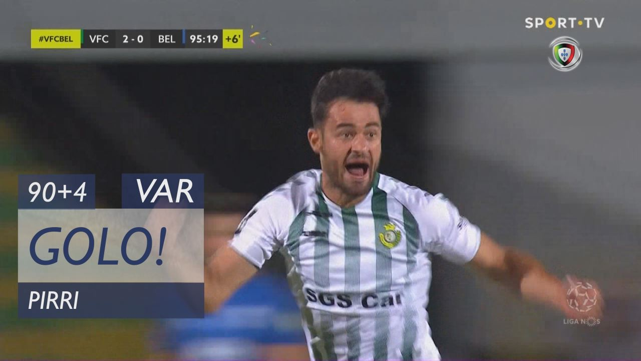 GOLO! Vitória FC, Pirri aos 90'+4', Vitória FC 2-0 Belenenses