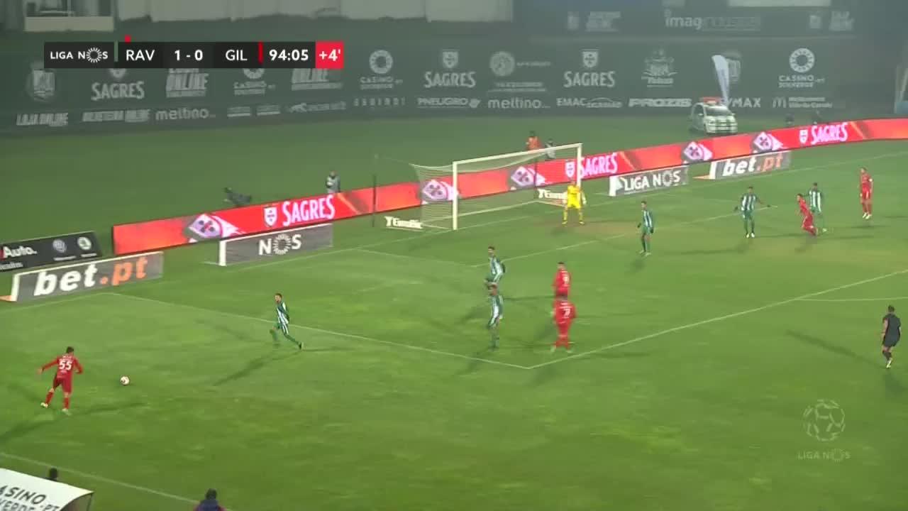 Gil Vicente FC, Jogada, Lourency aos 90'+5'