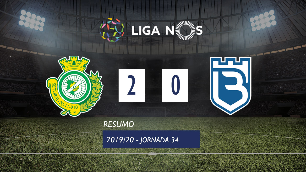 Liga NOS (34ªJ): Resumo Vitória FC 2-0 Belenenses
