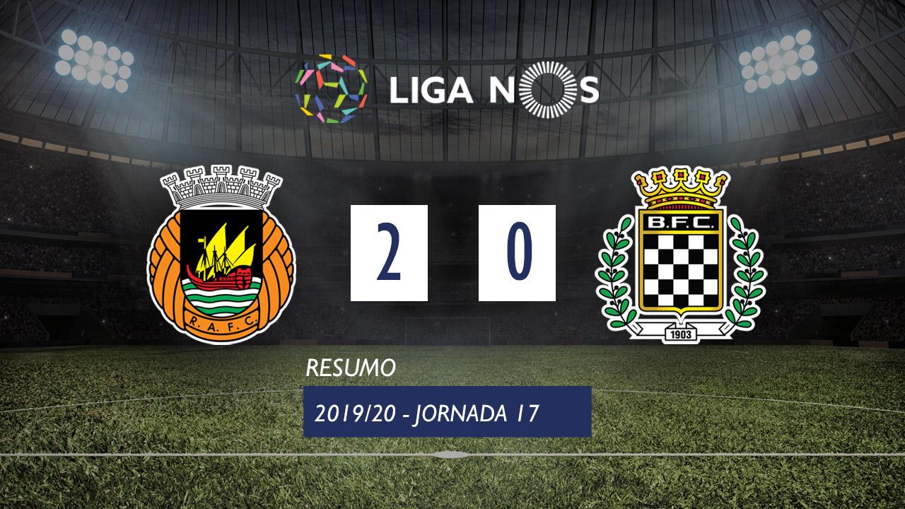 I Liga (17ªJ): Resumo Rio Ave FC 2-0 Boavista FC