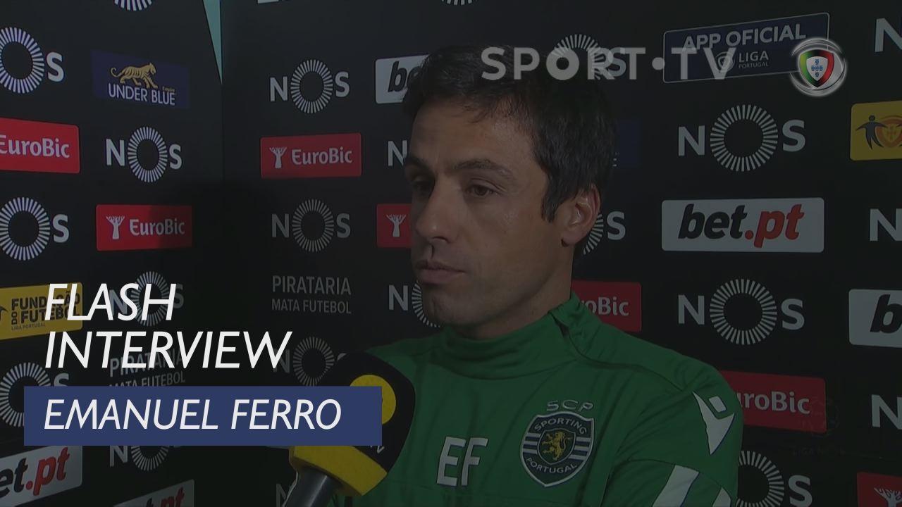 Liga (17ª): Flash Interview Emanuel Ferro