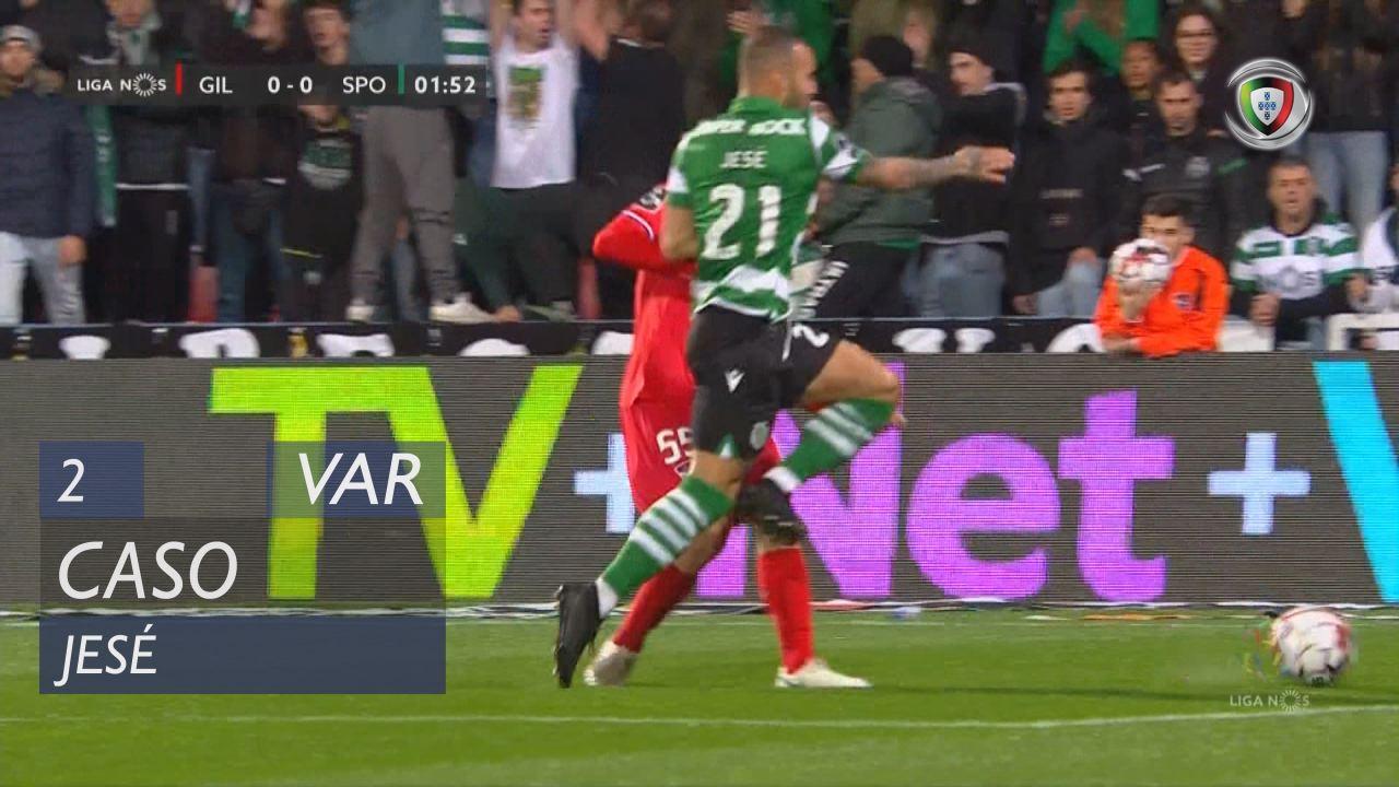 Sporting CP, Caso, Jesé aos 2'
