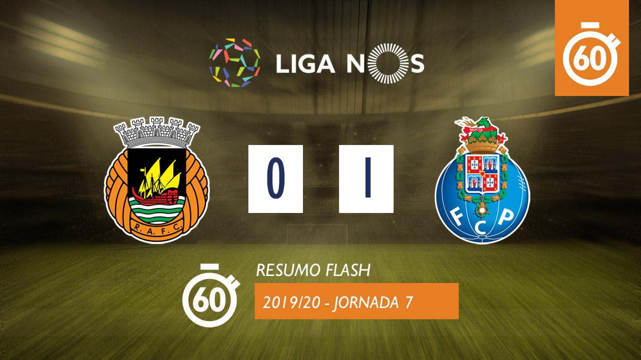 I Liga (7ªJ): Resumo Flash Rio Ave FC 0-1 FC Porto